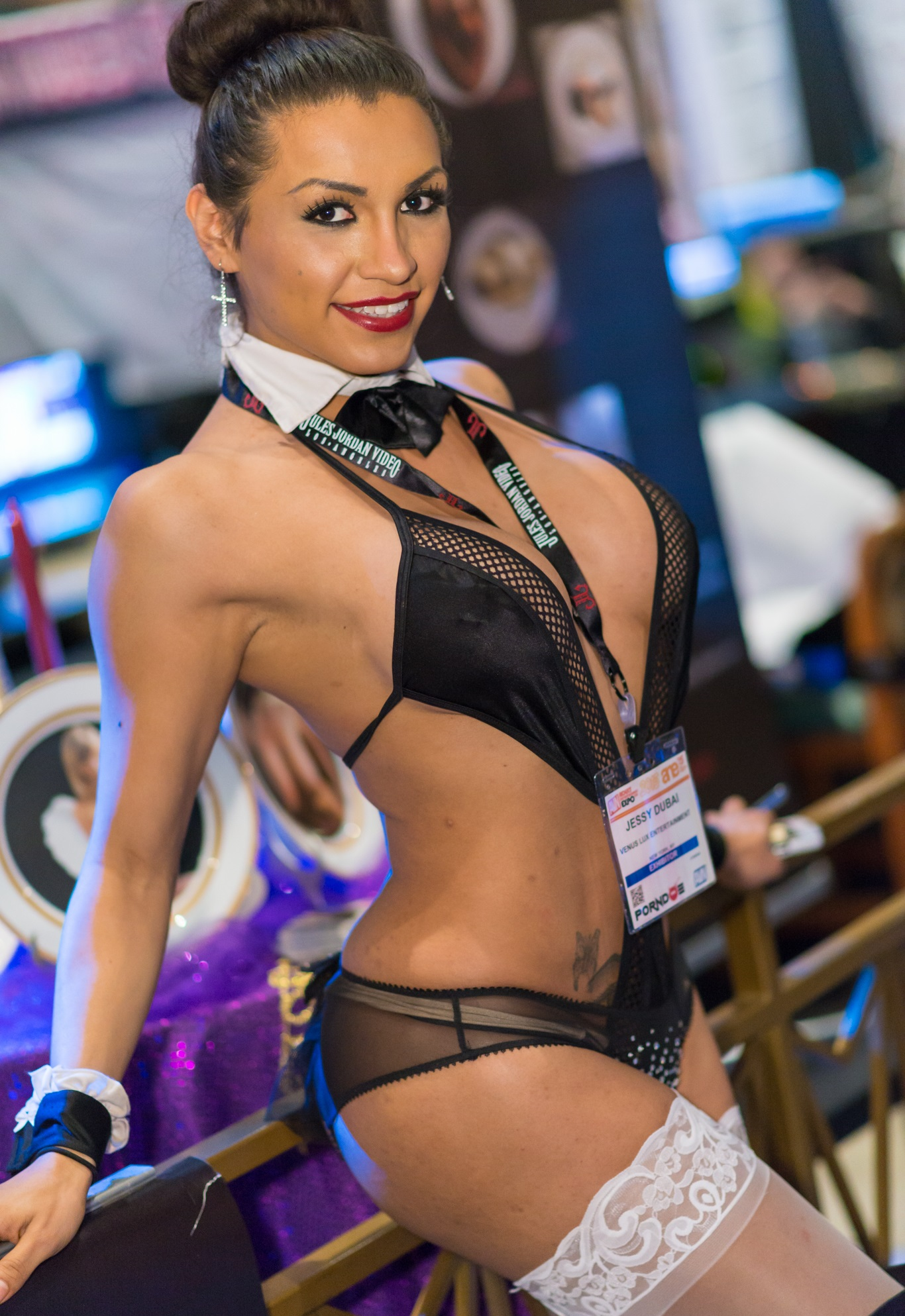 Jessy Dubai at the AVN Expo Awards