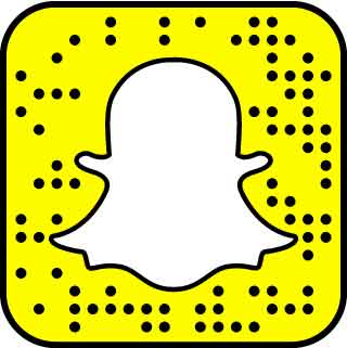 Snapcode to add Aubrey Kate snapchat username